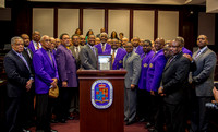 Gamma Pi's Proclamation for 40 Years of Service