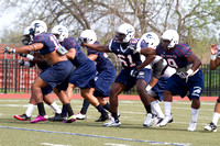 Howard University Spring Football - March 23, 2012