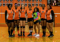 Oakland Mills Volleyball Senior Day 2016